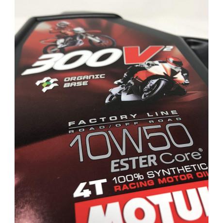Motorový olej H1-R RACING 100% SYNTHETIC ESTER 2T 1 l